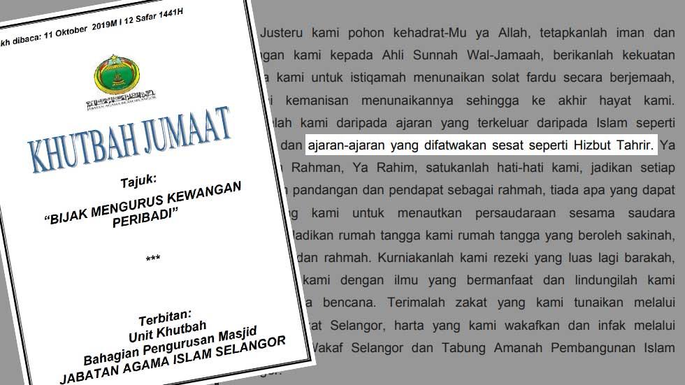 Jais Sudah Hilang Rasa Malu Maka Ia Berbuat Semahunya Hizbut Tahrir Malaysia